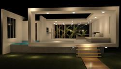 Casa Praia - Vista Noite