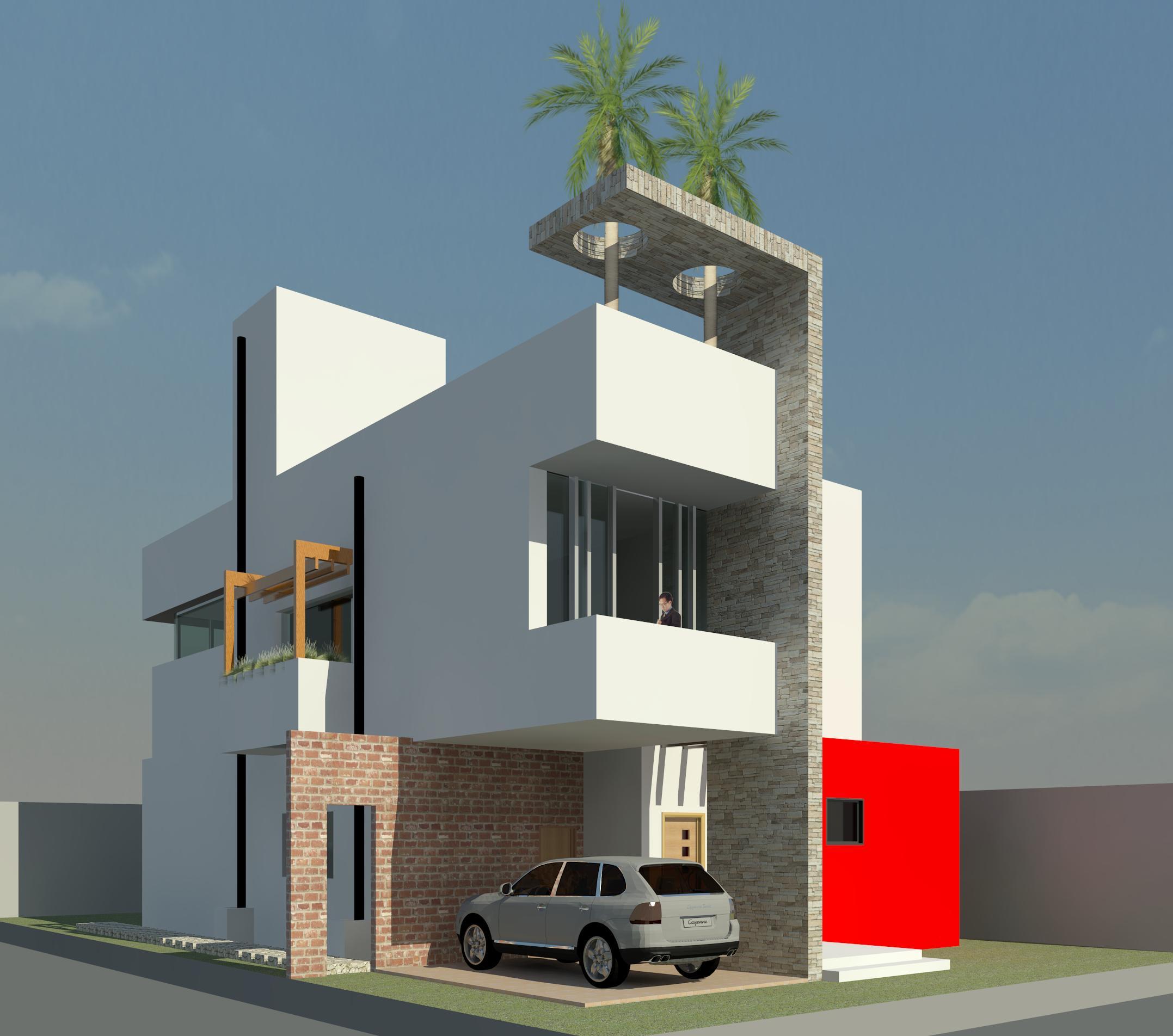 Casa Moderna - Vista 1