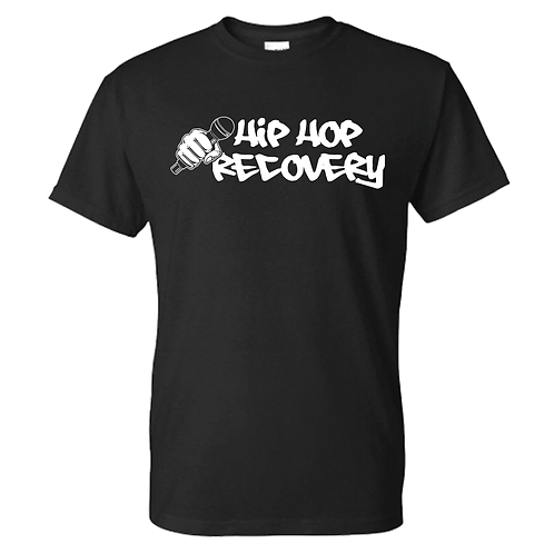 """""""HIP HOP RECOVERY"""" TEE (BLACK/WHITE)"""