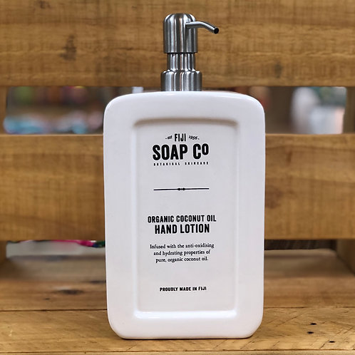 FIJI SOAP CO Organic Hand Lotion 1L
