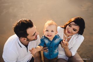 Ensaio família - 1 aninho Davi