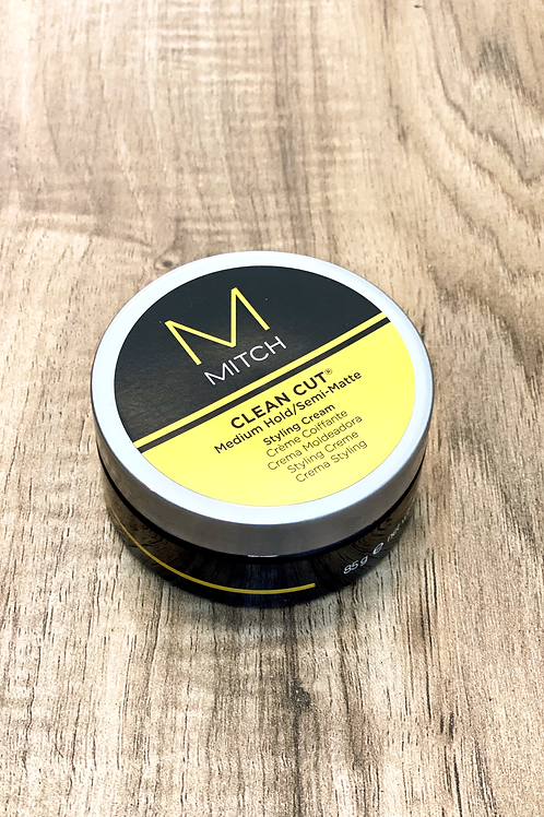 MITCH CLEAN CUT MEDIUM HOLD/SEMI-MATTE STYLING CREAM