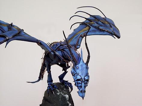 Dragon Sculptures