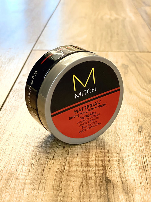 MITCH MATTERIAL STRONG HOLD/ULTRA MATTE STYLING CLAY