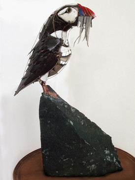 Standing Puffin 14
