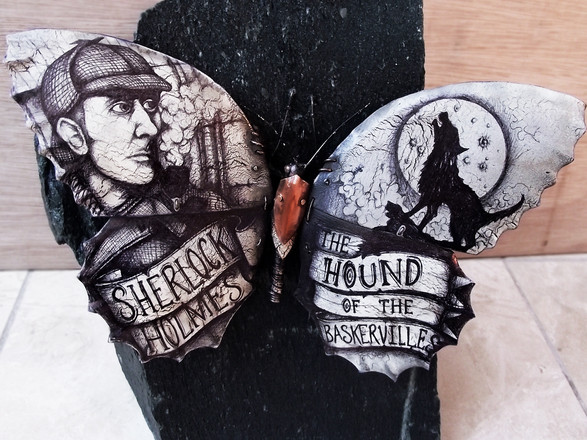 Sherlock Holmes Evolution Butterfly