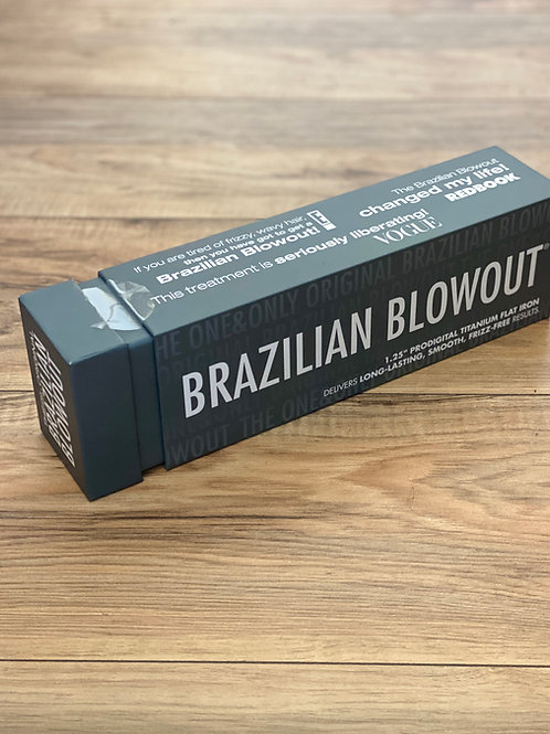 "BRAZILIAN BLOWOUT 1.25"" PRO DIGITAL TITANIUM FLAT IRON"