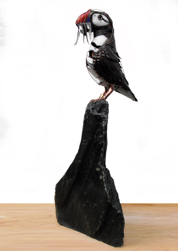 Standing Puffin 6