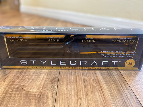 "STYLECRAFT 1.25"" Style Stix XL Spring Curling Iron"