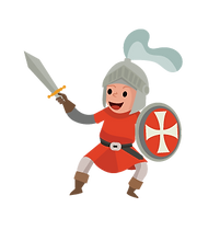 טופי הפקות | אביר נלחם בדרקון