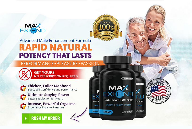 Max Extend Order Now