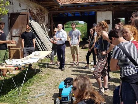 Exkursion zum gemeinschaftlichen Wohnprojekt