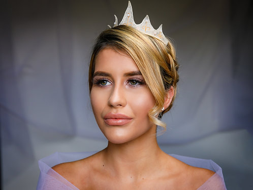 Organza Embroidered Crown