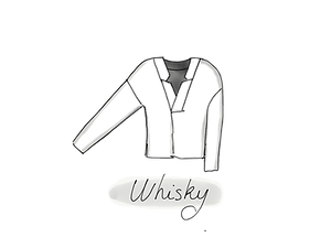 blouse loose whisky