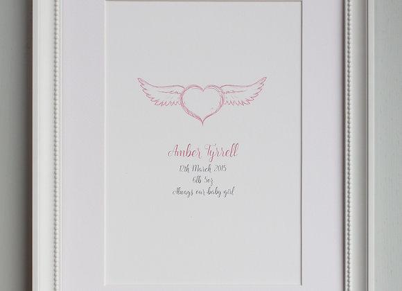 Personalised Angel Print