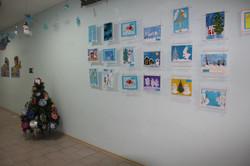 Новогодняя выставка.