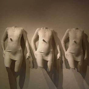 Sculptures in Plaster