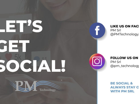 LET'S GET SOCIAL: WE'RE READY TO CONNECT WITH YOU.