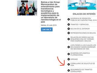HOW TO APPLY YOUR VISA BOLIVIA