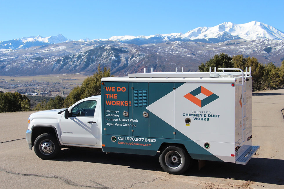 Colorodo Chimney provides expert chimney sweep cleanings, dryer vent cleanings, and furnace and duct works.