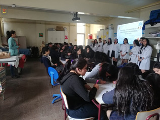 """""""Estudiantes de la Especialidad de Atención de Enfermería dictan charlas de Prevención y Autocuidado"""