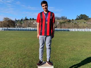 """""""Alumno Alexis Mansilla será representante Provincial en Juegos Deportivos Escolares"""""""