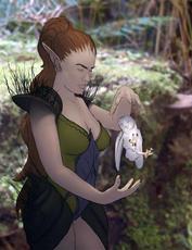 Druid contrasting
