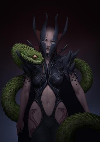 Cobra Sorceress
