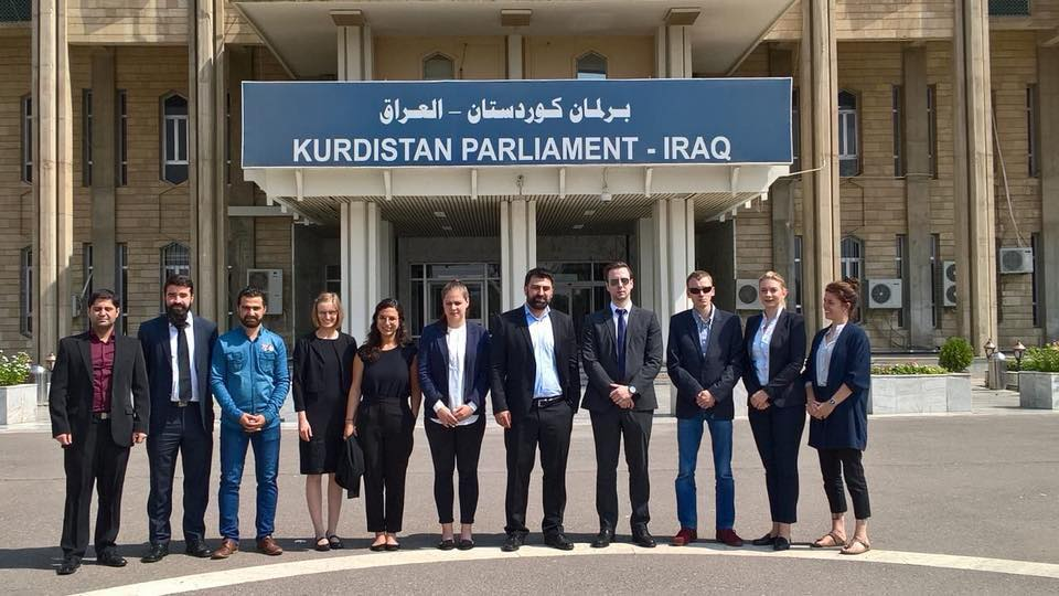 A delegation of Yasa under the direction of Mr. Mohamed Miro to monitor the referendum process on th