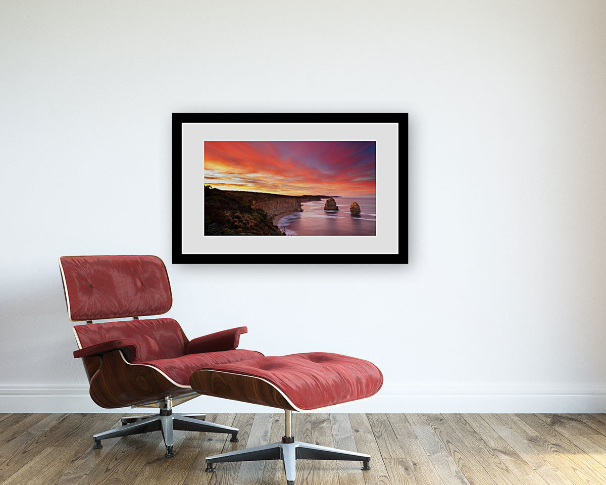 Wood framed