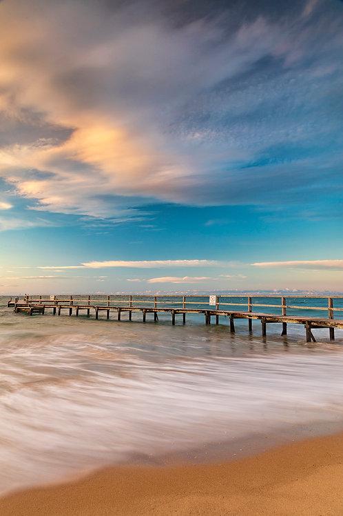 PEACE AT BAY - UNFRAMED