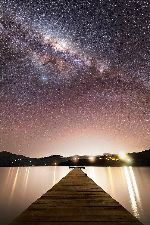 BAY OF STARS - UNFRAMED