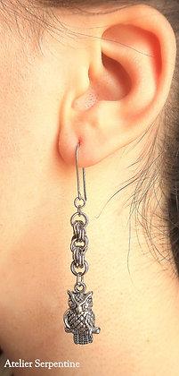 """Boucles d'oreilles """"ERASME"""""""