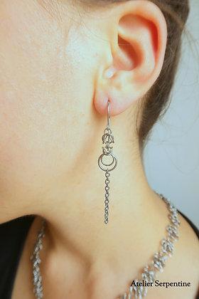 """Boucles d'oreilles """"ELBORIS"""""""