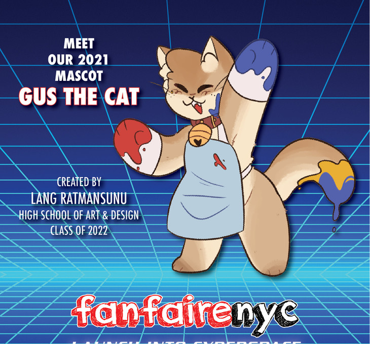 Fanfaire NYC 2021 Mascot