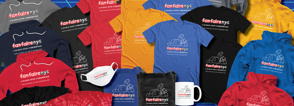 Fanfaire NYC 2021 Merch collection