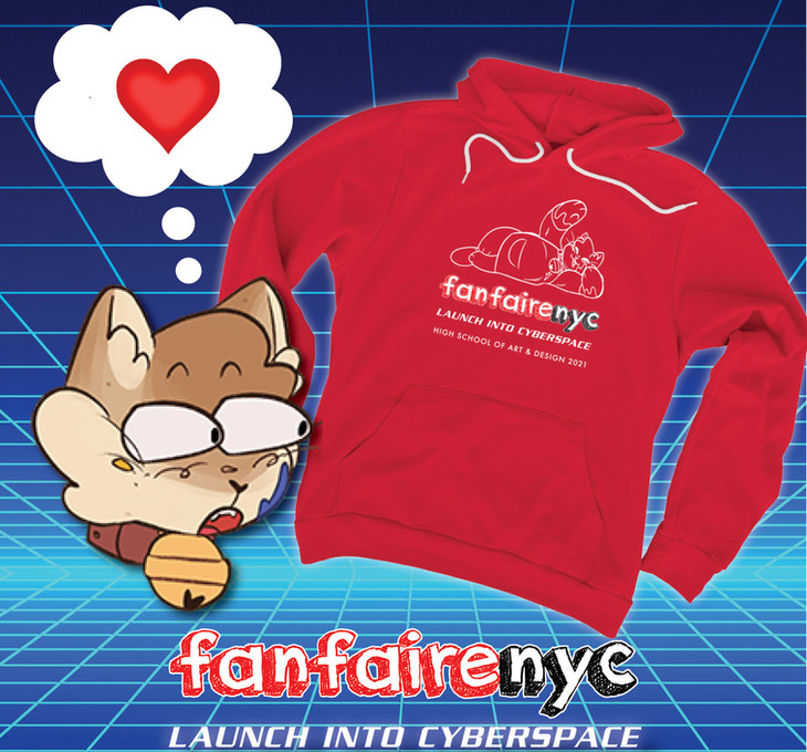 Fanfaire NYC 2021 Gus Hooded Sweat Shirt