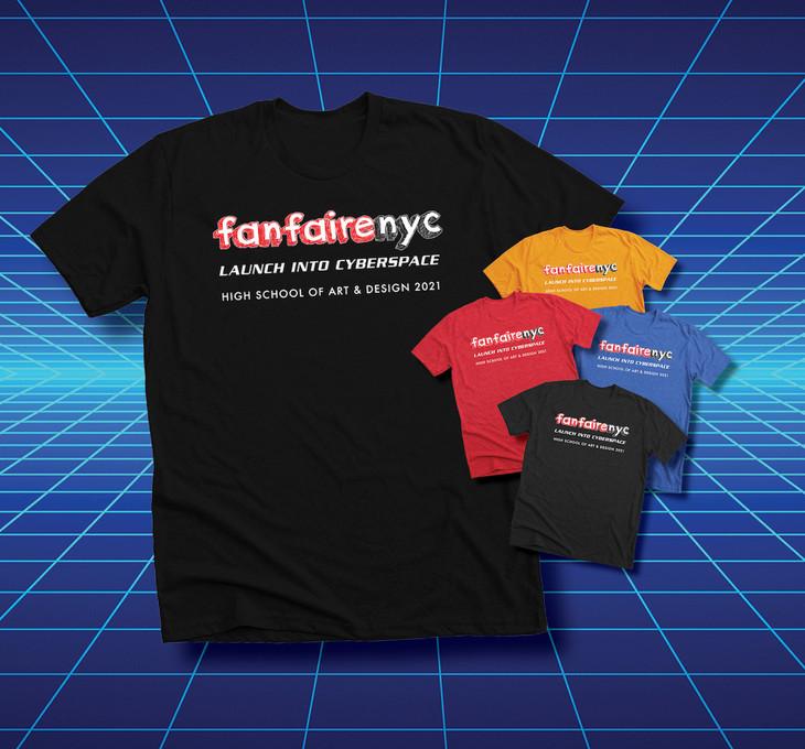 Fanfaire NYC 2021 Logo T-Shirt