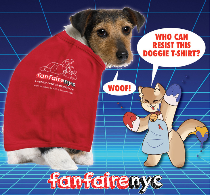 Fanfaire NYC 2021 Gus Doggie T-Shirt