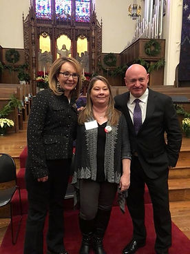 Gabby Gifford & Husband Mark Kelly