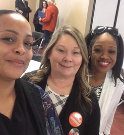 LaShea, Cathy and Diana