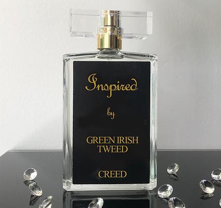 Inspired by Green Irish Tweed