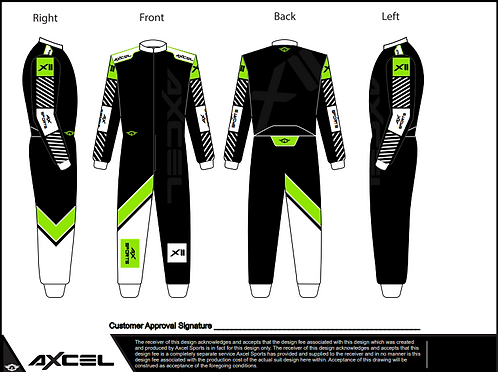 CIK Axcel Xtreme II Suit BGW2