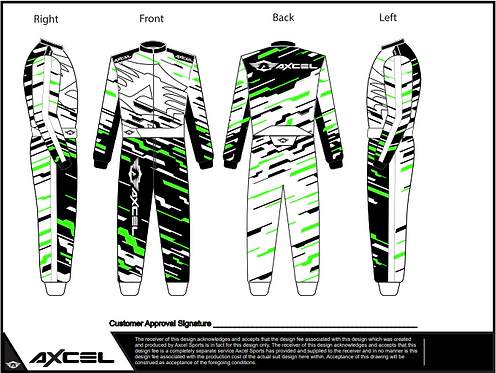 CIK Axcel Torino Suit WBFG