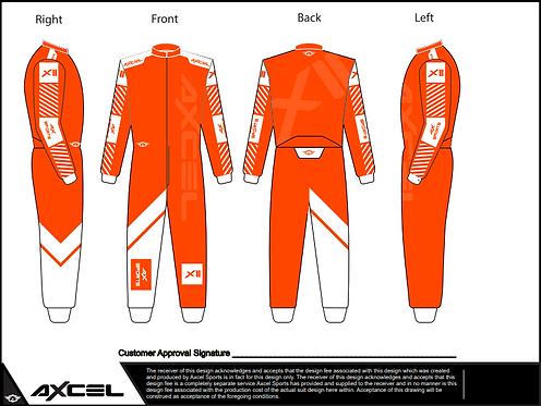 CIK Axcel Xtreme II Suit OW