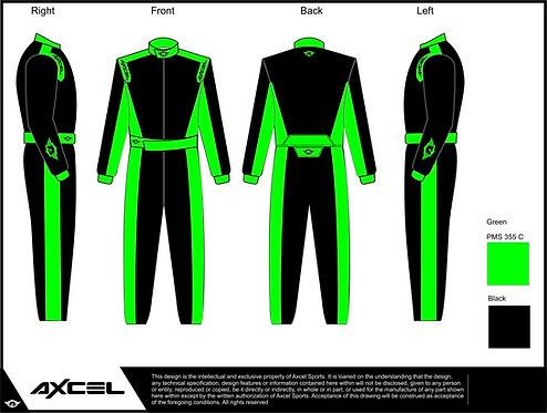 SFI Axcel Bratos Suit