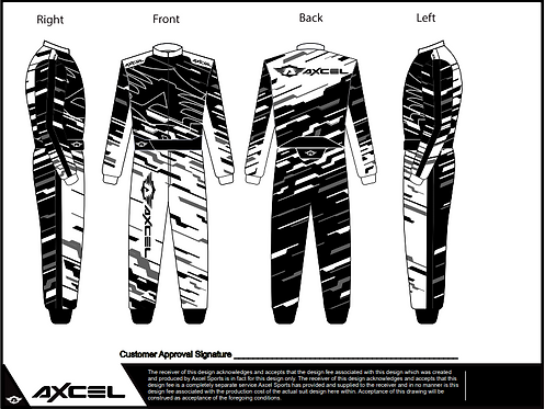 CIK Axcel Torino Suit BWG