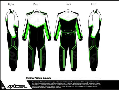 CIK Axcel AX5 Suit WBFG