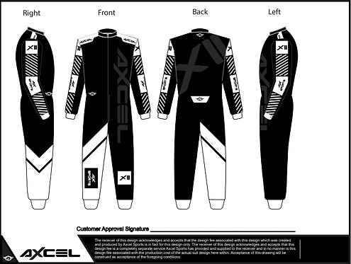 CIK Axcel Xtreme II Suit BW2