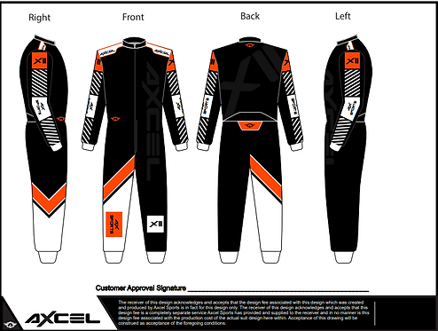 CIK Axcel Xtreme II Suit BOW